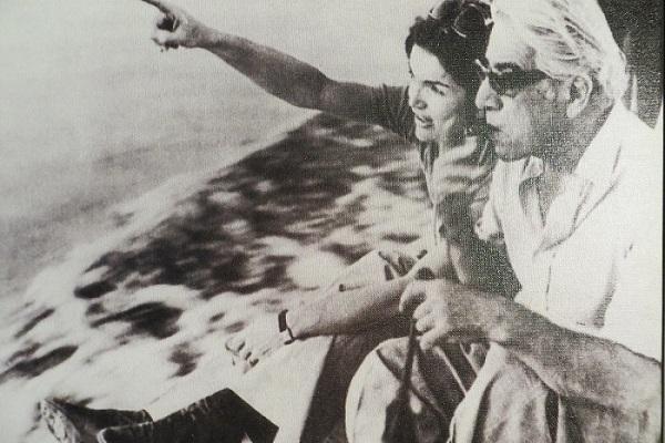 Aristoteles Onassis und Jackie Kennedy